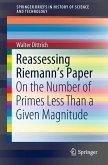 Reassessing Riemann's Paper (eBook, PDF)