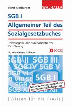 SGB I - Allgemeiner Teil des Sozialgesetzbuches (eBook, PDF) - Marburger, Horst