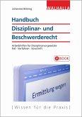 Handbuch Disziplinar- und Beschwerderecht (eBook, PDF)