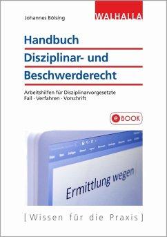 Handbuch Disziplinar- und Beschwerderecht (eBook, PDF) - Bölsing, Johannes