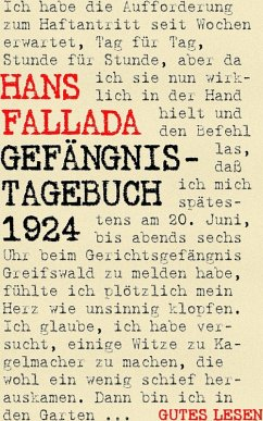 Gefängnistagebuch 1924 (eBook, ePUB)