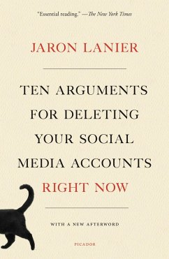 Ten Arguments for Deleting Your Social Media Accounts Right Now (eBook, ePUB) - Lanier, Jaron