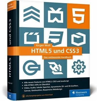 HTML5 und CSS3 von Jürgen Wolf