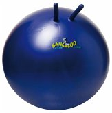 Togu 360602 - Kangaroo Ball ABS Sprungball, platzsicher, blau 60 cm
