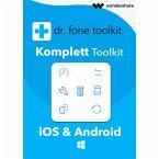Wondershare Dr. Fone - Komplett Toolkit für PC 5 Geräte 1 Jahr Laufzeit (Download für Windows)