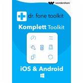Wondershare Dr.fone - Komplett Toolkit für PC 5 Geräte 1 Jahr Laufzeit (Download für Windows)
