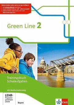 Green Line 2. Ausgabe Bayern. Trainingsbuch Schulaufgaben. Heft mit Lösungen und CD-ROM Klasse 6