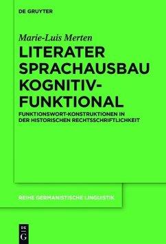 Literater Sprachausbau kognitiv-funktional (eBook, PDF) - Merten, Marie-Luis