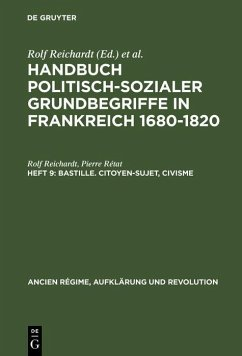 Bastille. Citoyen-Sujet, Civisme (eBook, PDF) - Reichardt, Rolf; Rétat, Pierre