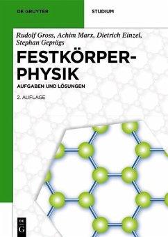 Festkörperphysik (eBook, PDF) - Gross, Rudolf; Marx, Achim; Einzel, Dietrich; Geprägs, Stephan