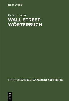 Wall Street-Wörterbuch (eBook, PDF) - Scott, David L.