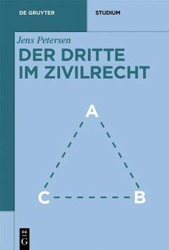 Der Dritte im Zivilrecht (eBook, PDF) - Petersen, Jens