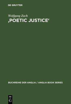 'Poetic Justice' (eBook, PDF) - Zach, Wolfgang