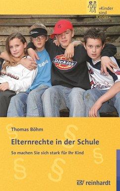 Elternrechte in der Schule (eBook, PDF)