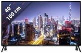 Panasonic TX40FXW654 Glossy Black with Silver Line 100 cm (40 Zoll) Fernseher (4K / Ultra HD)