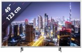 Panasonic TX-49FXW654S Silver 123 cm (49 Zoll) Fernseher (4K / Ultra HD)