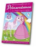 Beschäftigungsblock: Zauberhafte Welt der Prinzessinnen, Feen Pferde, Ponys & Einhörner
