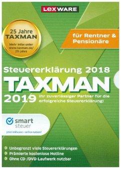 Taxman 2019 für Rentner & Pensionäre, 1 DVD-ROM