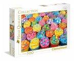 Bunte Cupcakes (Puzzle)