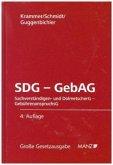 SDG - GebAG (Sachverständigen- und Dolmetschergesetz - Gebührenanspruchsgesetz)