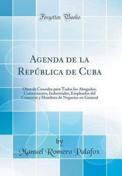 Agenda de la República de Cuba