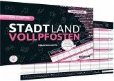 """Denkriesen - Stadt Land Vollpfosten® - Girls Edition - """"Mädchenrunde."""" (Spiel)"""