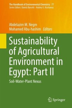 Sustainability of Agricultural Environment in Egypt: Part II