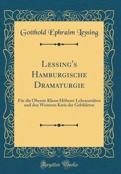 Lessing's Hamburgische Dramaturgie