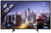 Panasonic TX-49FXW654 Glossy Black with Silver Line 123 cm (49 Zoll) Fernseher (4K / Ultra HD)