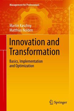 Innovation and Transformation (eBook, PDF) - Kaschny, Martin; Nolden, Matthias