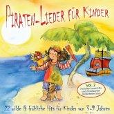 Piraten-Lieder für Kinder (Vol. 2), 1 Audio-CD