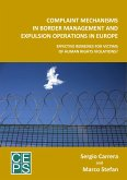 Complaint Mechanisms in Border Management and Expulsion Operations in Europe: Effective Remedies for Victims of Human Rights Violations?
