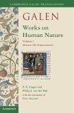 Galen: Works on Human Nature: Volume 1, Mixtures (De Temperamentis)