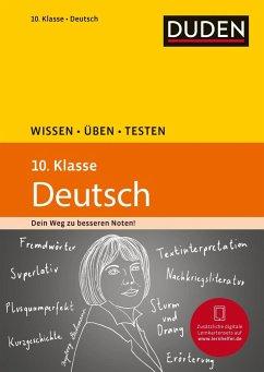 Wissen - Üben - Testen: Deutsch 10. Klasse (Män...