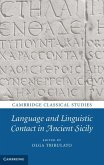 Language and Linguistic Contact in Ancient Sicily (eBook, ePUB)