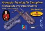 Arpeggio-Training für Saxophon - Pocketguide für Fortgeschrittene
