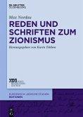 Reden und Schriften zum Zionismus (eBook, ePUB)