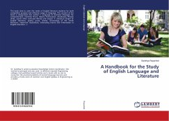A Handbook for the Study of English Language and Literature
