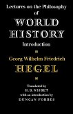 Lectures on the Philosophy of World History (eBook, ePUB)