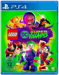 Lego Dc Super-Villains (Playstation 4)