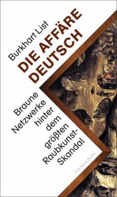 Die Affäre Deutsch - List, Burkhart