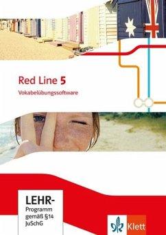 9. Klasse, Vokabelübungssoftware, CD-ROM / Red Line. Ausgabe ab 2014 .5