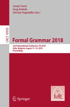 Formal Grammar 2018