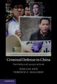 Criminal Defense in China (eBook, PDF)