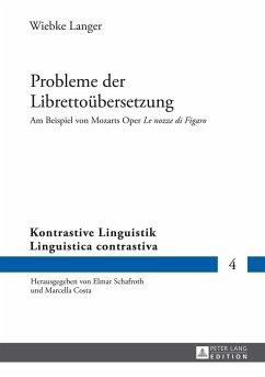 Probleme der Librettouebersetzung