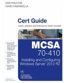MCSA 70-410 Cert Guide R2 (eBook, PDF)