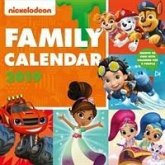 Nickelodeon Family Organiser Official 2019 Calendar - Square Wall Calendar Format