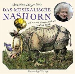 Das musikalische Nashorn und andere Tiergeschichten, 1 Audio-CD - Hacks, Peter