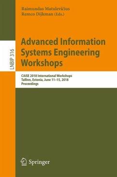 Advanced Information Systems Engineering Workshops (eBook, PDF)