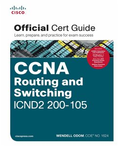 CCNA Routing and Switching ICND2 200-105 Official Cert Guide (eBook, PDF) - Odom, Wendell